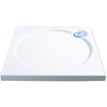 Coram Coratech Slimline Shower Tray 800 x 800mm White