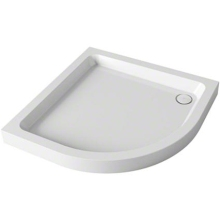 Mira Flight Quadrant Shower Tray 2 Upstands White 800mm x 800mm