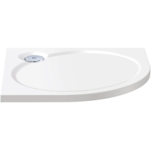 Coram Coratech Slimline Quadrant Shower Tray 900mm  White