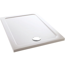 Mira Flight Rectangle Low Shower Tray 900mm x 760mm White