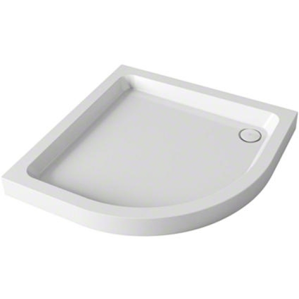 Mira Flight Quadrant  Shower Tray 900mm x 900mm White