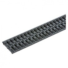 ACO Black Plastic Grating