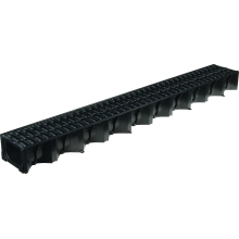 Aco HexDrain Channel with Grate 1mtr Plastic