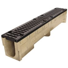 Aco S100 C/Iron Edge Channel Only S010A 1m x 191mm