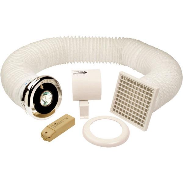 Air Vent Shower Light Kit