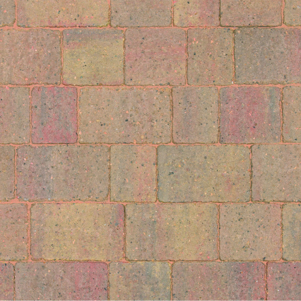 Alpha Block Paving 140x140x60mm Autumn Gold