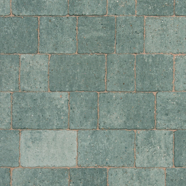 Alpha Block Paving 210x140x60mm Silver Haze per M2