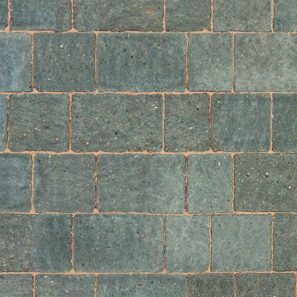 Alpha Block Paving 140x140x60mm Charcoal per M2