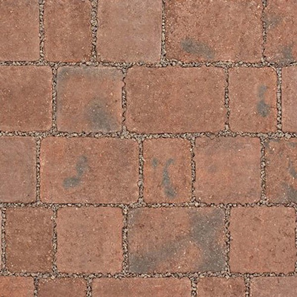 Alpha Flow Permeable Block Paving 140x140 Brindle
