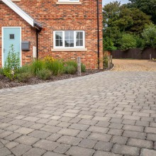 Alpha Flow Permeable Block Paving Pack Various Sizes and Colours