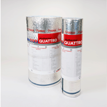 Aluthermo 1.2x25m Roll Quattro Insulation