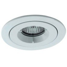 Ansell AMICD/IP65/MW iCage Mini Matt White Fire Rated Downlight 50W GU10