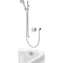 Aqualisa Quartz Concealed Divert with Adjustable Head & Bath Filler HP/Combi