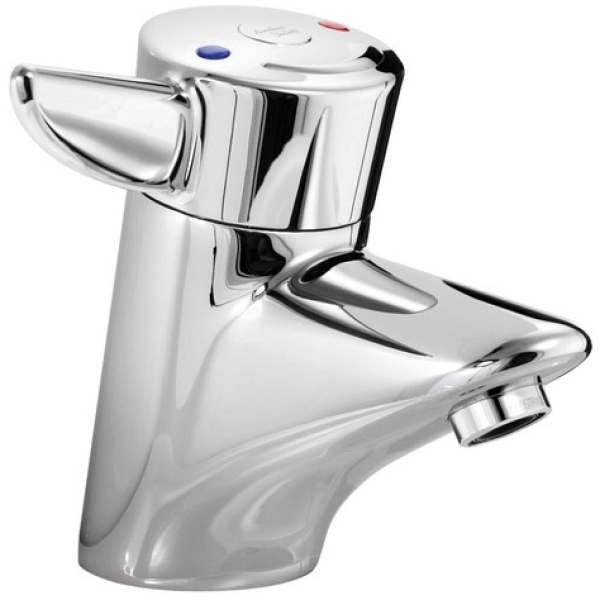 Armitage Shanks Nuastyle Single Lever Thermostatic Basin Mixer With Flexible Inlet Tails