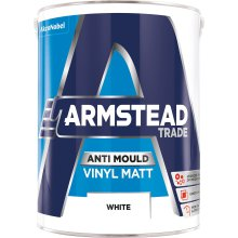Armstead Anti-Mould Vinyl Matt White 5L