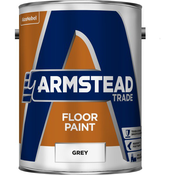 Armstead Endurance 5ltr Floor Paint Grey