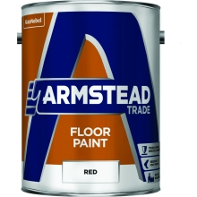 Armstead Endurance 5ltr Floor Paint Red