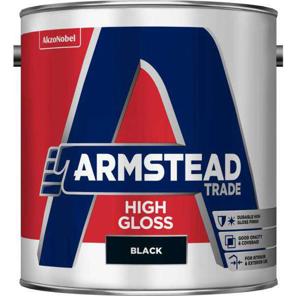 Armstead Trade 1ltr Gloss Black