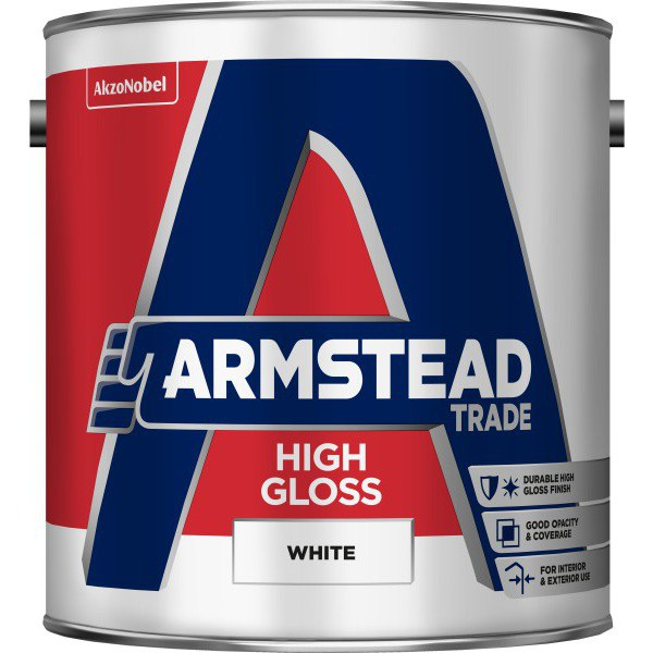 Armstead Trade 2.5ltr High Gloss White