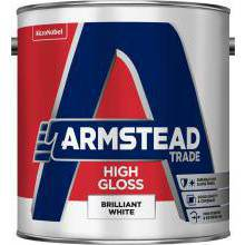 Armstead Trade High Gloss Brilliant White 1ltr