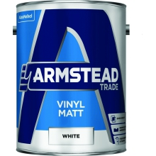 Armstead Vinyl Matt Brilliant White 5L