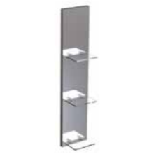 Atlanta 175mm Shelved Mirror Backboard