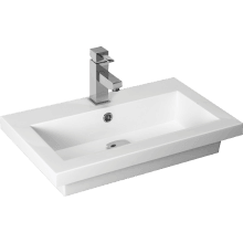 Atlanta Breeze Sit-on Basin 510mm