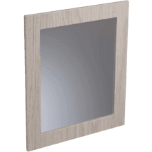 Atlanta Classic Framed Mirror 600mm Stone Grey