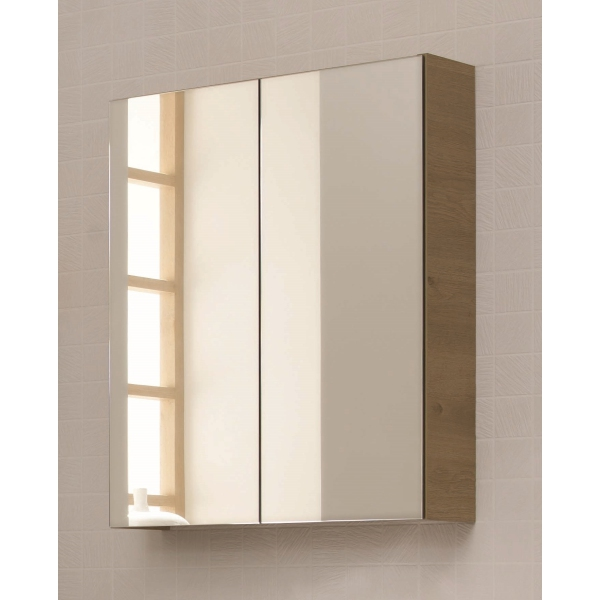 Atlanta Concepts 2 Door Mirror Storage Unit 600 White Gloss