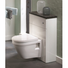 Atlanta Concepts W/C Unit (inc. Cistern) 600mm White Gloss