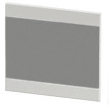 Atlanta Form Modular Linear Mirror 500 Graphite Lucido