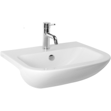 Atlanta Pavia Semi-Recessed Basin 1 Taphole White
