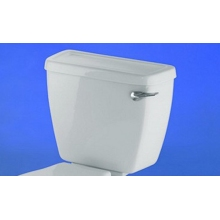 Atlas White Pre Installed Cistern with Lever