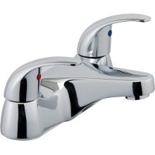 Aura Genoa 2 Taphole Bath Filler Chrome Plated