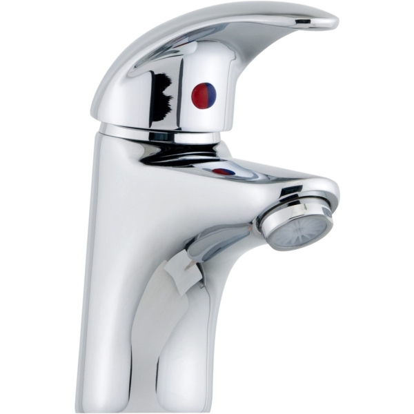 Aura Genoa Mono Basin Tap Chrome Plated
