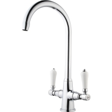 Aura Georgian Lever Mono Sink Mixer