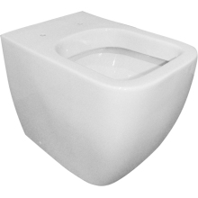 Aura Nelio Back to Wall Pan White