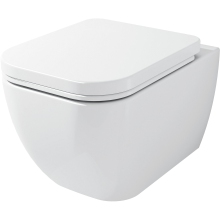 Aura Nelio Wall Hung Pan White