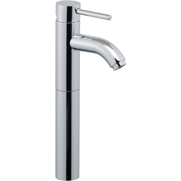 Aura Nuveo Tall Mono Basin Mixer Chrome Plated Without Pop up Waste