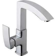 Aura Square Mono Sink Mixer