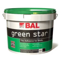 Bal 10ltr Green Star Tile Adhesive