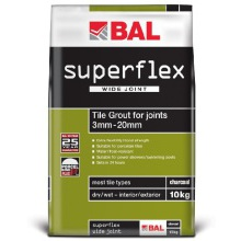BAL Superflex Wide Joint Grout White 3.5kg