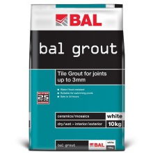 BAL Wall Grout White 10kg