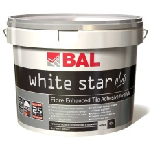 BAL White Star Plus Tile Adhesive 2.5L