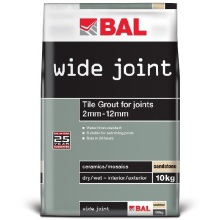 BAL Wide Joint Grout Grey 10kg