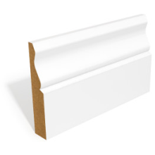 Balcas MDF 14.5 x 45 Chamfered & Round Architrave Primed
