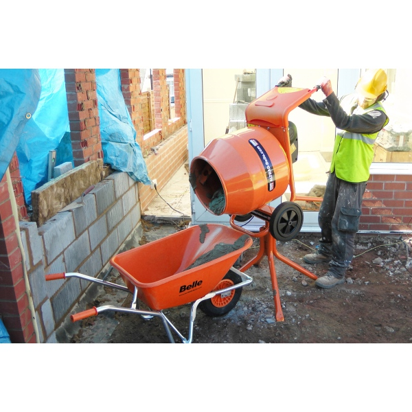 Belle Mini 150 Cement Mixer 230V