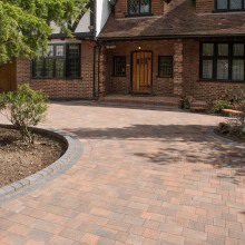 Beta Block Paving 2.95m Circle Pack in Various Colours
