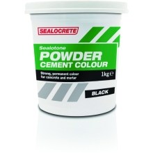 Sealocrete 1kg Tub Sealotone Powder Black