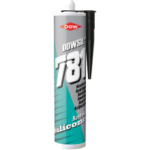 Dow Corning 310ml Silicone Sealant 781 Black